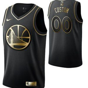 Golden State Warriors #00 Custom Swingman Jersey